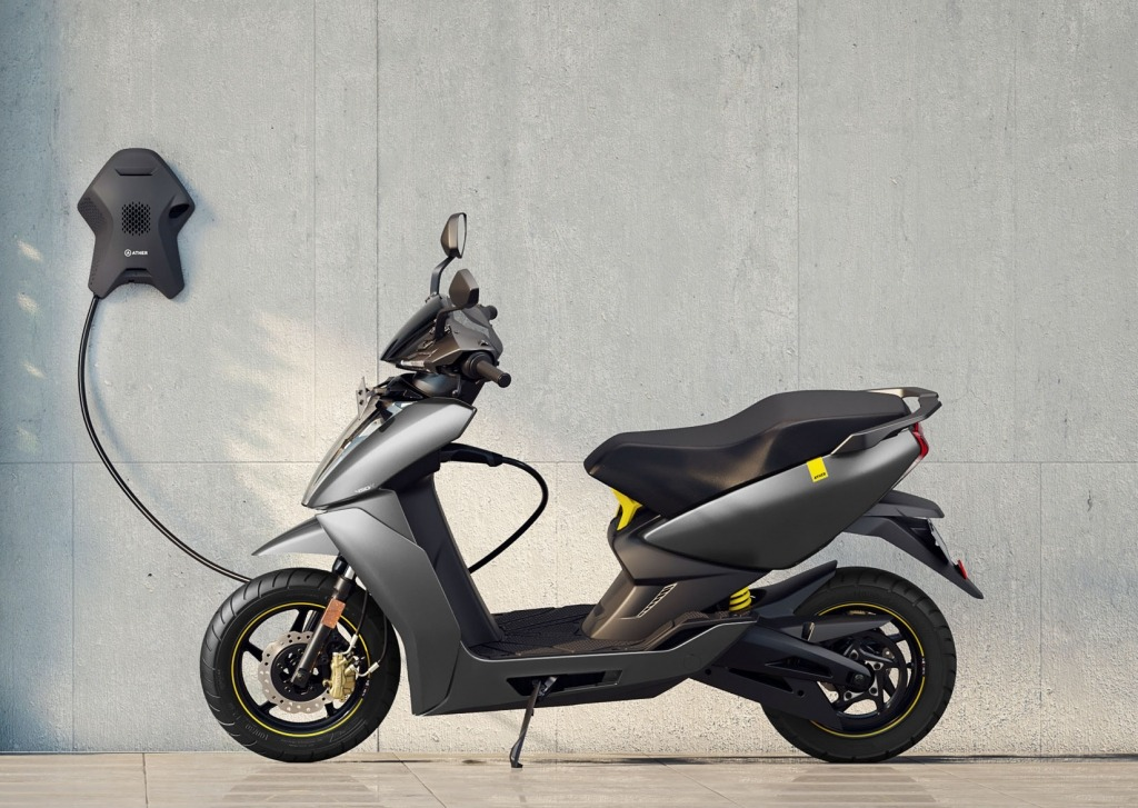 The Ather-450X launched in Jan 2020