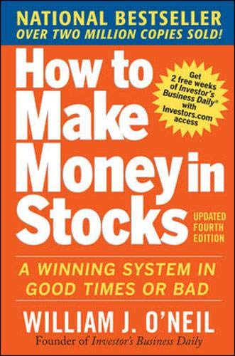 """In the book """"How To Make Money in Stocks"""", O'Neil writes the details of his CANSLIM strategy"""