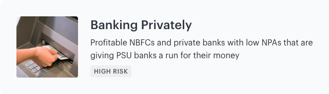 banking privately smallcase