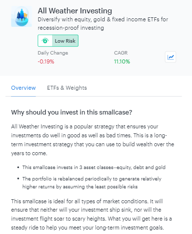 All Weather Investing