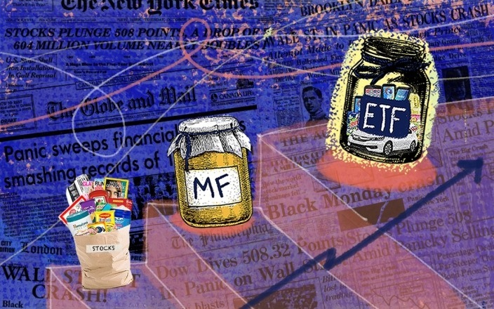 Market Crashes and the Origins of ETFs