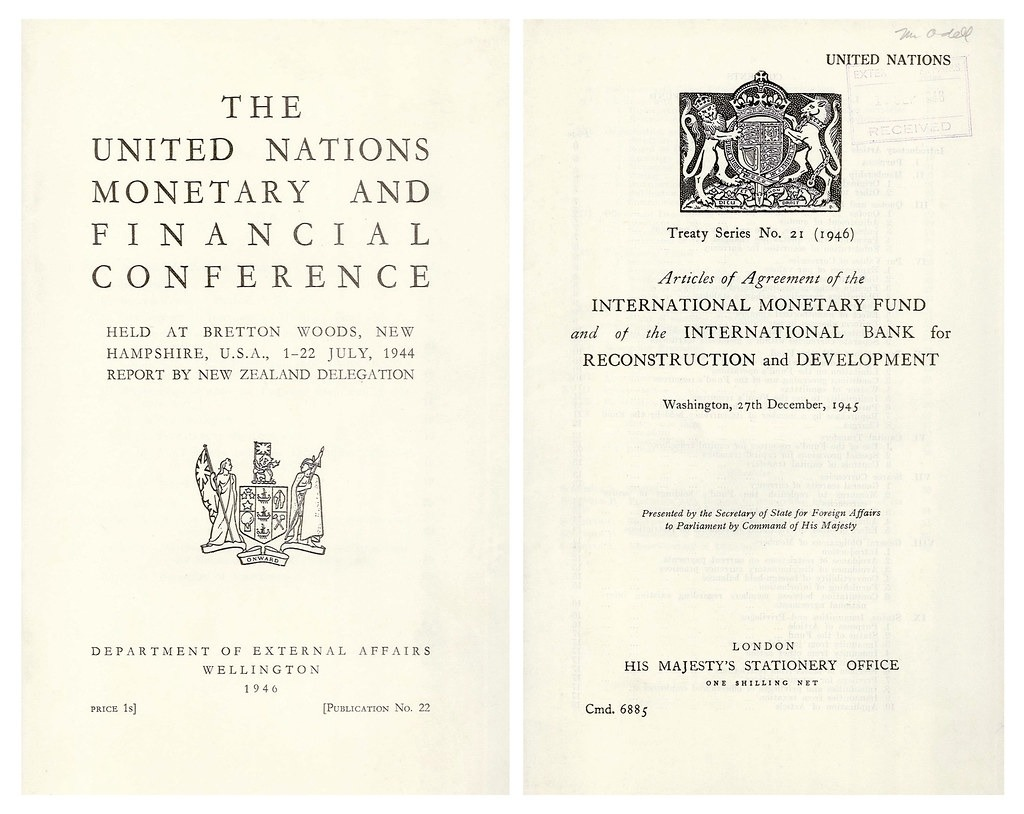 Bretton Woods Agreement of 1944